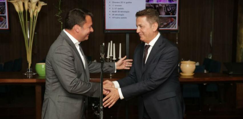 Cineplexx Sarajevo bit će otvoren u ljeto 2020. godine