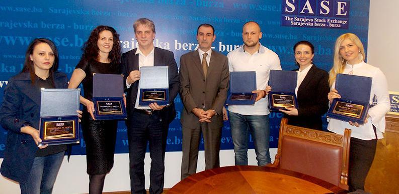 SASE dodijelila tradicionalna priznanja najuspješnijim članovima