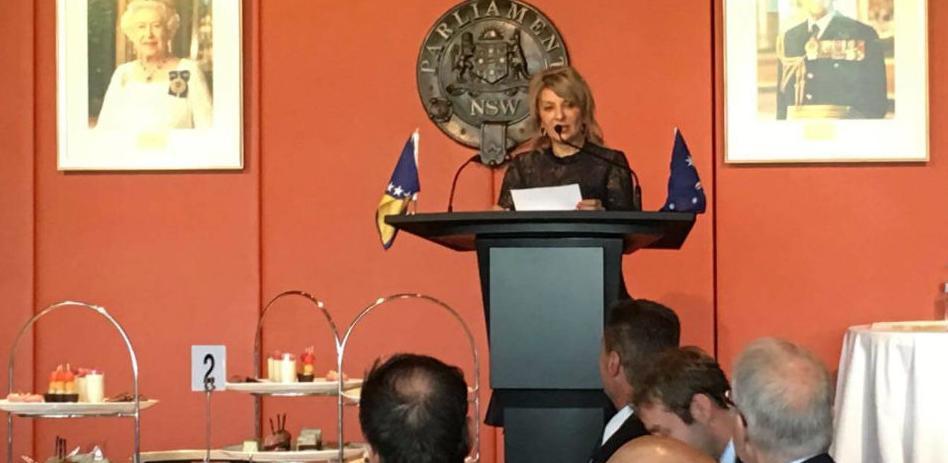 Dana nezavisnosti BiH upriličen u Parlamentu Novog Južnog Velsa u Sydneyu