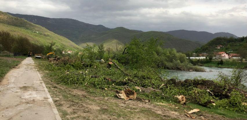 Projekta od 10,5 mil KM: Počela izgradnja obaloutvrde kod Goražda