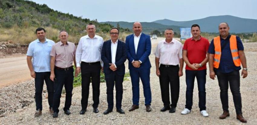 Radovi na poddionici Zvirovići-Miletina trebali bi biti završeni do listopada