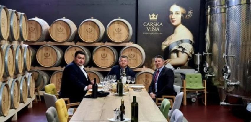 Predstavnici Vanjskotrgovinske komore obišli proizvođače vina