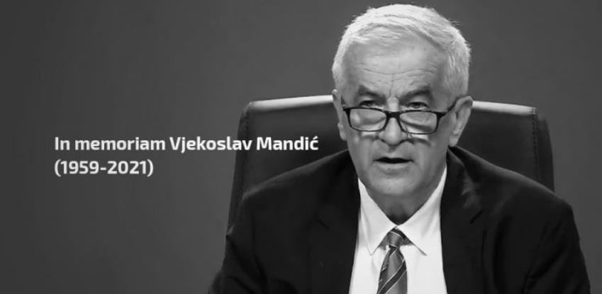 Preminuo ministar zdravstva FBiH Vjekoslav Mandić