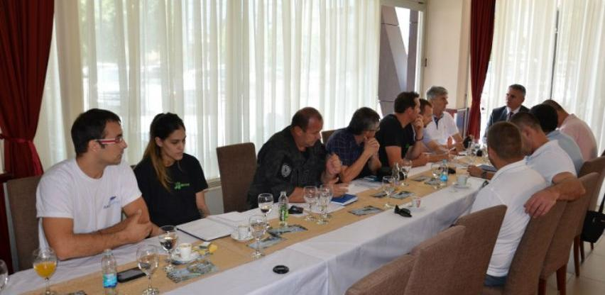 Prva međunarodna turistička regata 'Sava nautik' u Brčkom