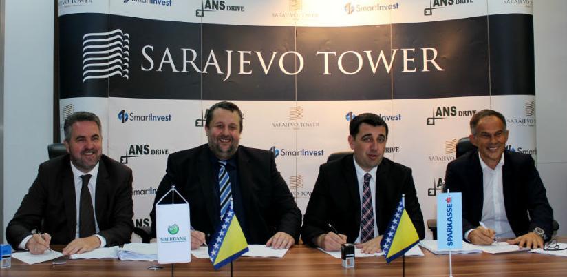 Sarajevo Tower: Na 26. spratova, 354 nove stambene jedinice