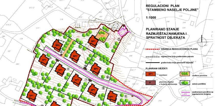 Plan izgradnje stambenog naselja Poljine na uvidu javnosti