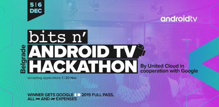 Prijavi se na AndroidTV Hakaton 2018: Izazov za sve kompjuterske magove je počeo