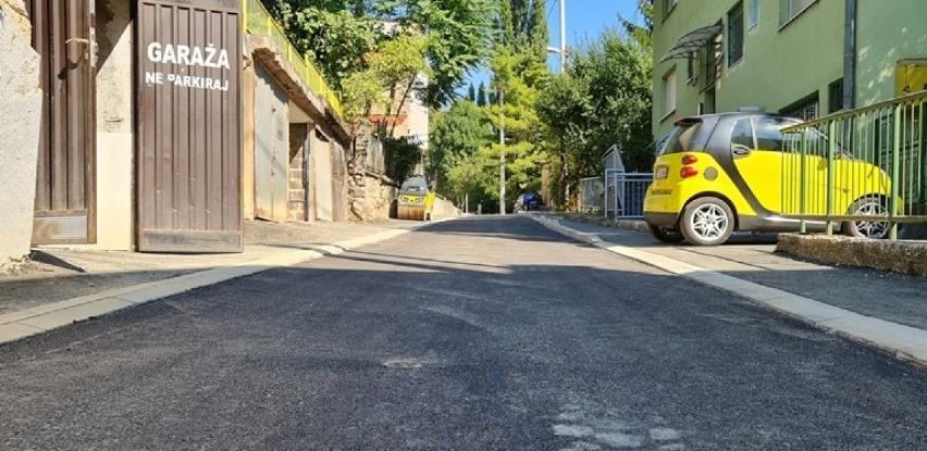 Okončani radovi na sanaciji Tepebašine ulice