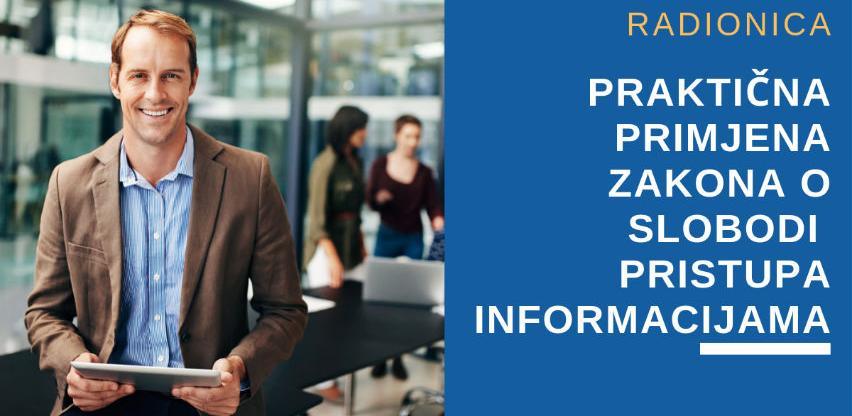 Praktična primjena Zakona o slobodi pristupa informacijama