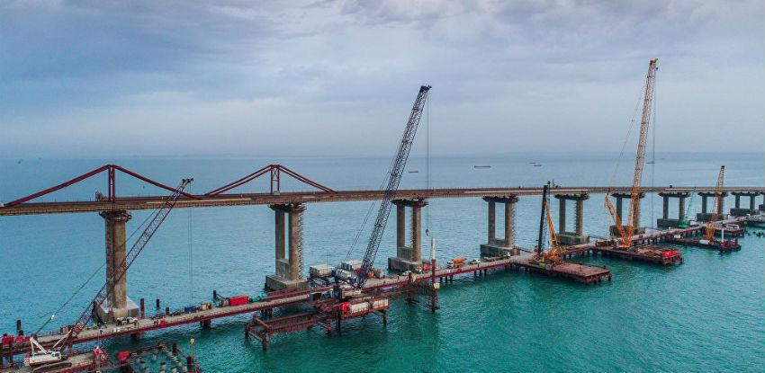 EU uvela dodatne sankcije Rusiji zbog gradnje mosta na Krimu