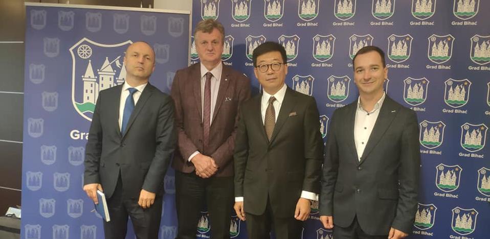 Kineskim investitorima predstavljen projekat aerodroma Bihać