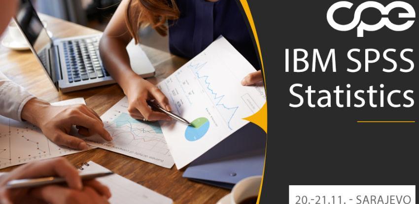 CPE: Naučite efikasno koristiti IBM SPSS Statistics u praksi