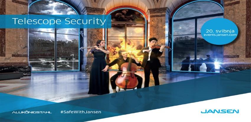 """JANSEN - digitalni događaj """"Telescope Security"""""""
