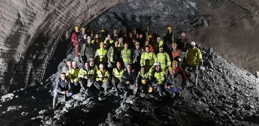 Crna Gora: Euro-Asfalt probio tunel kroz Bjelasicu dug 2.814 metara