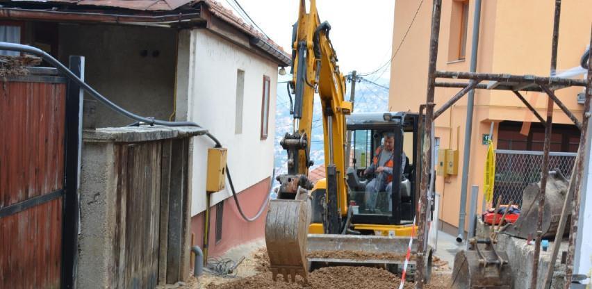 Radovi na ulicama na Mahmutovcu, zatim asfaltiranje