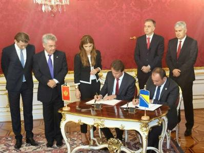 Crnadak potpisao Sporazum o granici između BiH i Crne Gore