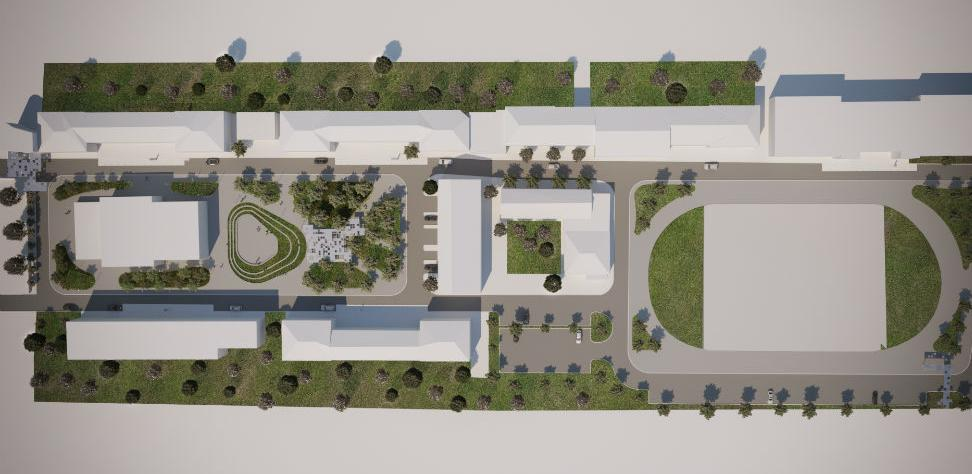 Novo ruho sveučilišnog kampusa u Mostaru