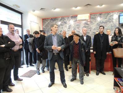Gradonačelnik Imamović otvorio prvi Tuzla Info centar