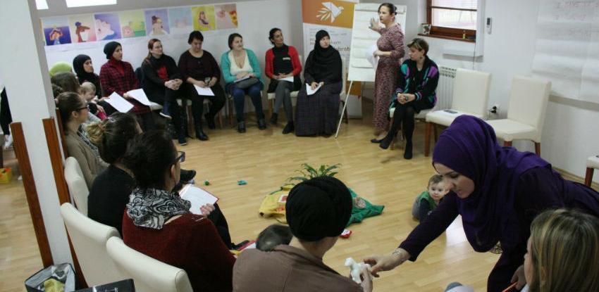Treće vikend predavanje u okviru obuke za peer savjetnicu za dojenje