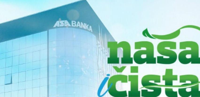 "ASA Banka se pridružila incijativi ""Očistimo grad za jedan dan"""