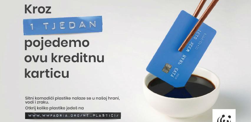 U sedam dana pojedemo jednu kreditnu karticu plastike