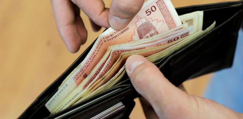 Prosječna plata u BiH u martu 907 KM