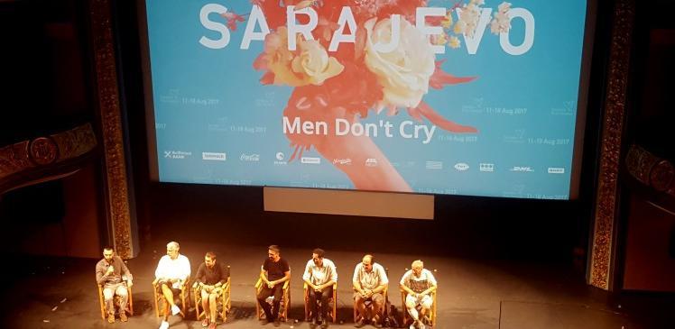 Gromoglasni aplauz za bh. film 'Muškarci ne plaču' Alena Drljavića