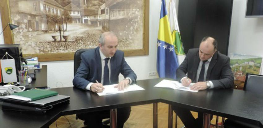 Nastavak gradnje kanalizacione mreže na području općine Tešanj