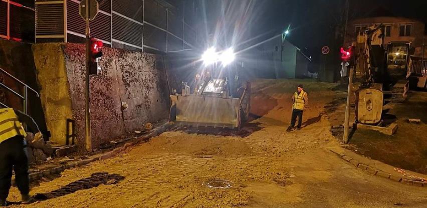 Nastavljeni radovi na sanaciji saobraćajnice u ulicama Trebevićka i Ljubljanska