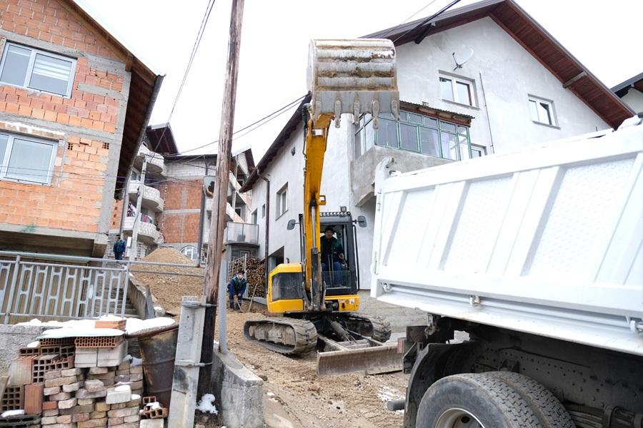 U toku pripremni radovi za sanaciju i asfaltiranje ceste u Novom Gradu