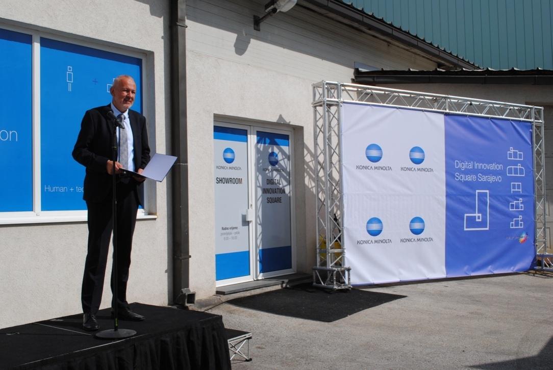 Prvi showroom u BiH: Konica Minolta otvorila Digital Innovation Square
