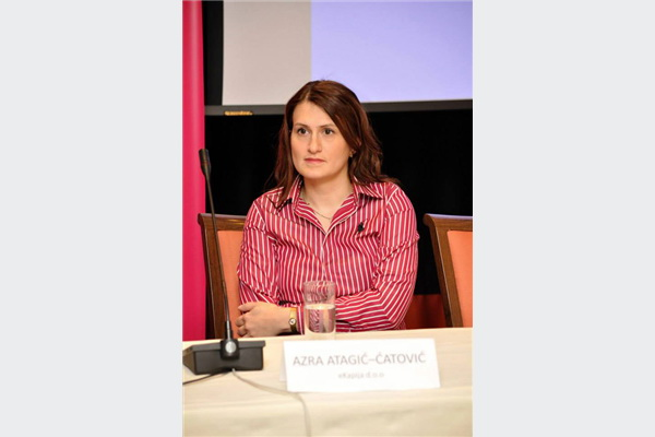 Azra Atagić-Ćatović, direktorica portala eKapija.ba