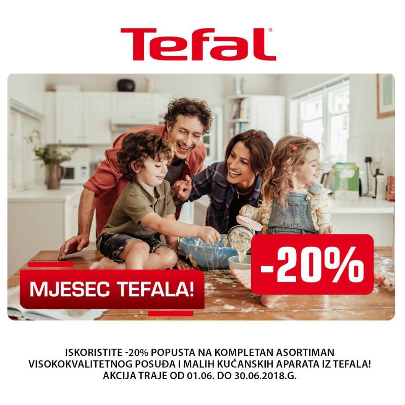 Iskoristite akciju Mjesec Tefala i popust od -20%
