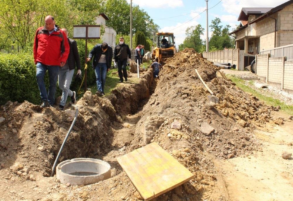 Počela izgradnja kanalizacione mreže u Mjesnoj zajednici Oskova