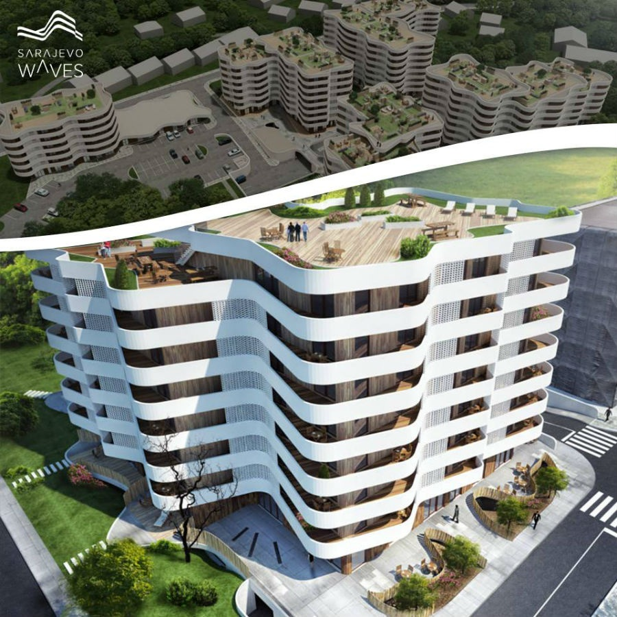 Compact Invest počeo izgradnju drugog objekta u naselju Sarajevo Waves