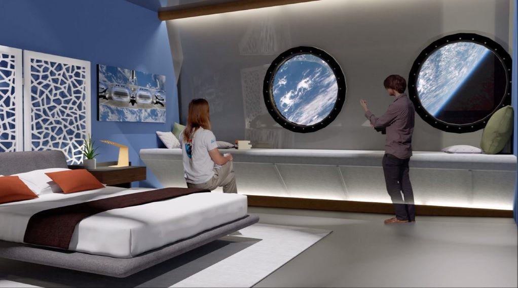 Prvi hotel u svemiru koji će kružiti oko Zemlje svakih 90 minuta otvara se 2027.godine?