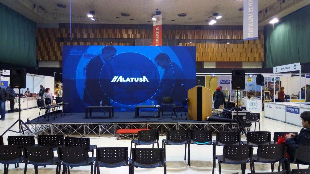 Alatuša predstavila svoje proizvode na 6. Sajmu privrede u Centru Skenderija