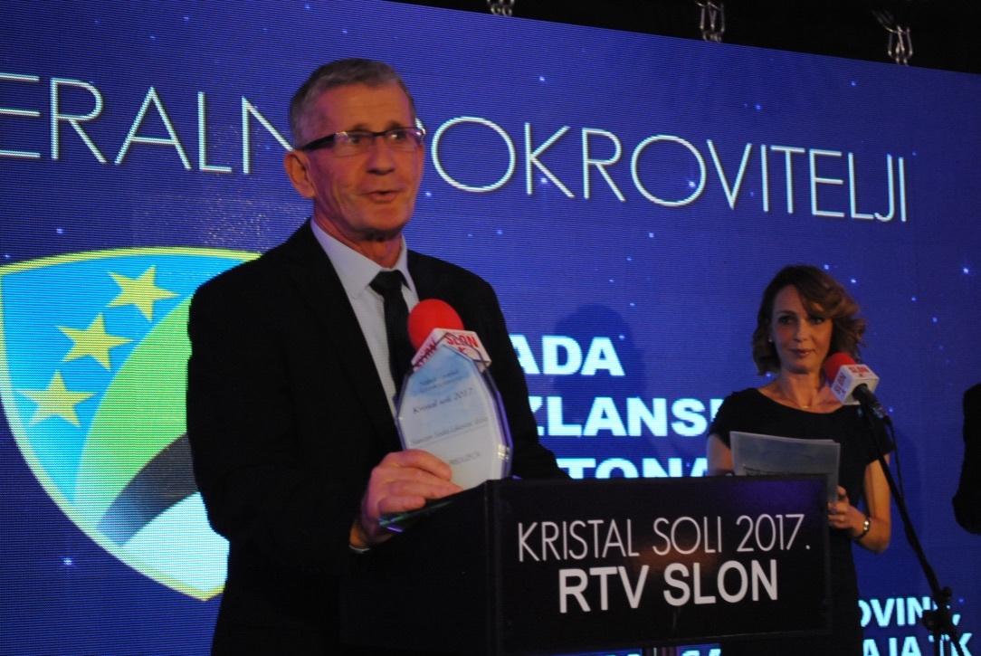 Kristal soli 2017: Uručena priznanja najboljim privrednicima TK u 12 kategorija