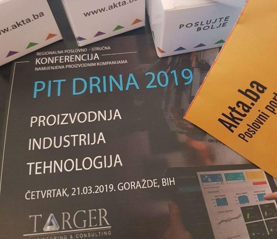 PIT Drina 2019 Goražde: Hoćemo novih znanja, umrežavanja i nadahnuća