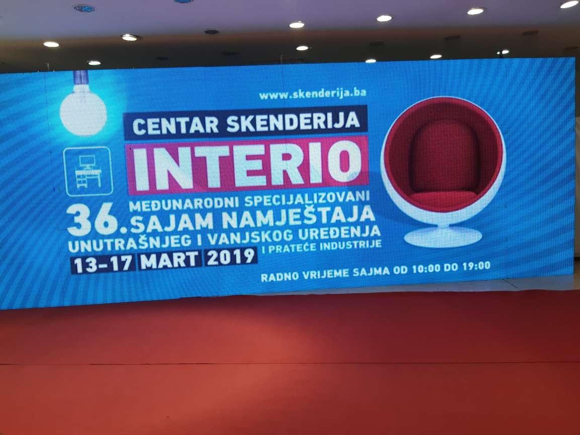 """U Centru Skenderija otvoren sajam namještaja """"Interio"""""""