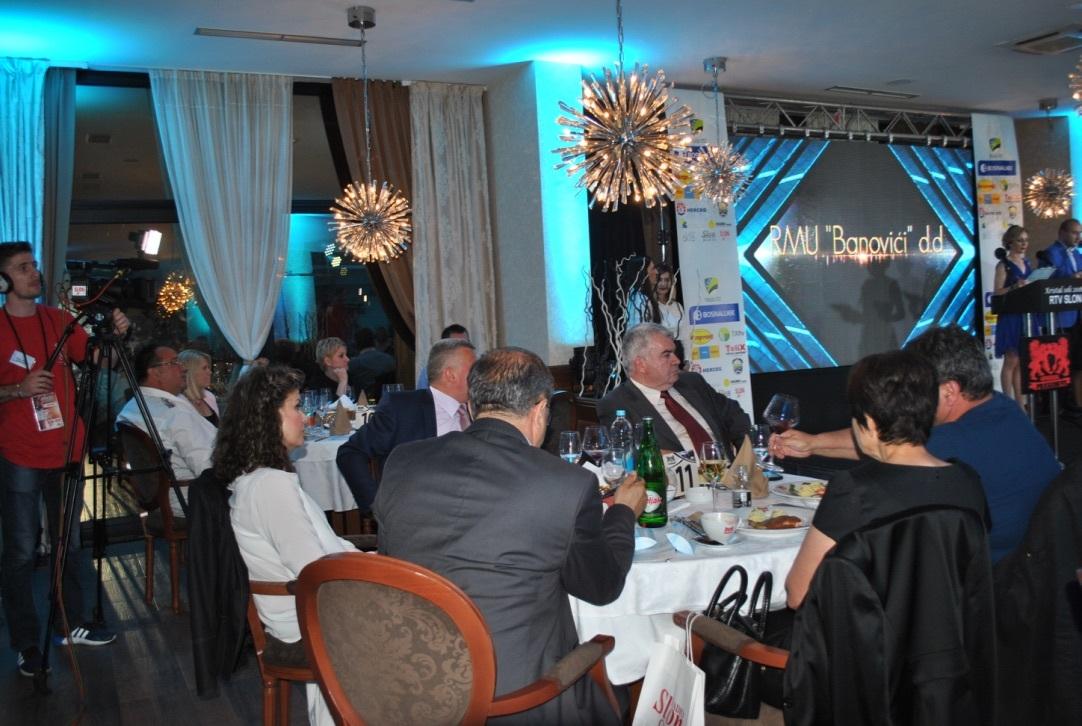 Kristal soli 2016: Odabrani najbolji u privredi Tuzlanskog kantona