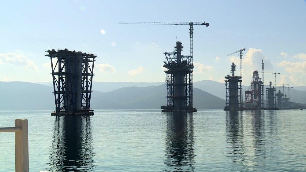 Pelješki most: Završeni radovi pod morem (Foto)