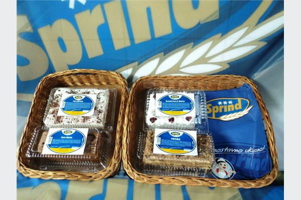 Poslastice iz Sprinda: Na tržište plasirano 13 novih proizvoda