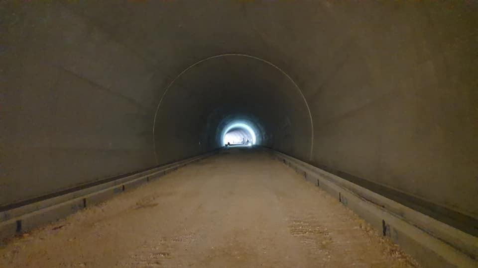 Pogledajte radove na tunelu Žaba (Foto)