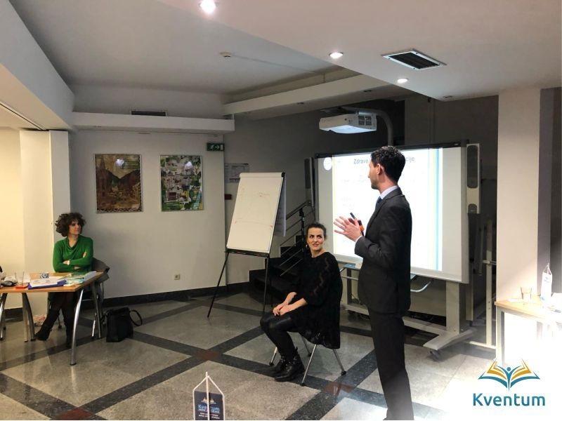 Kventum realizovao interni trening  za zaposlenike Goethe – instituta BiH