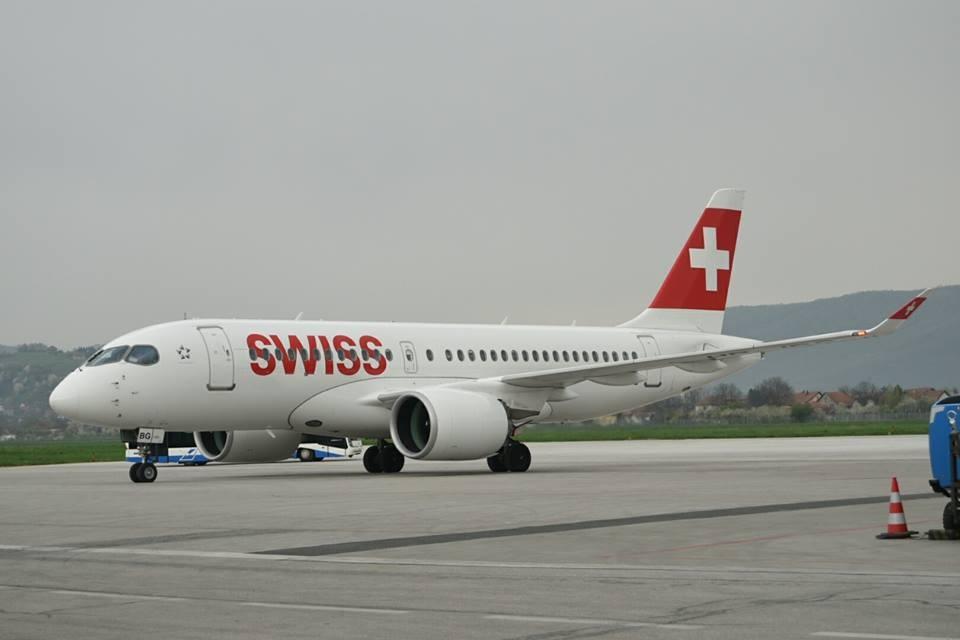 SWISS na relaciji Sarajevo-Zurich od danas prevozi putnike u novom Bombardieru
