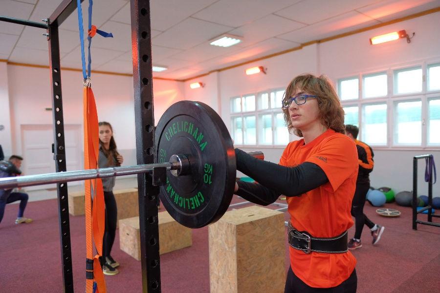 U Centru 'Safet Zajko' otvorena atletska teretana