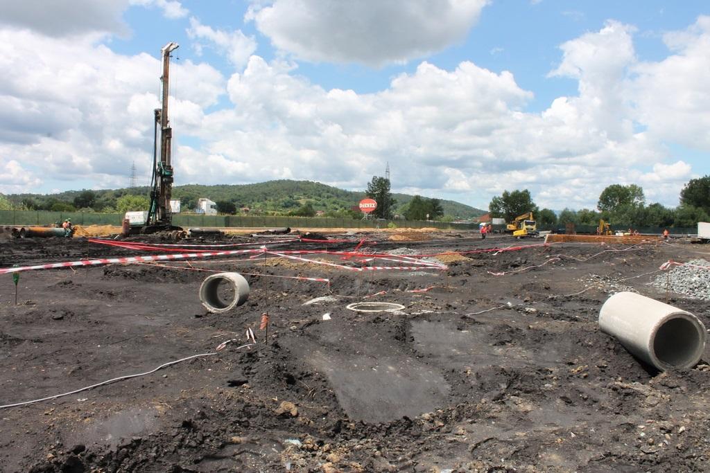 U industrijskoj zoni u Lukavcu postavljen temeljac za izgradnju fabrike Voith
