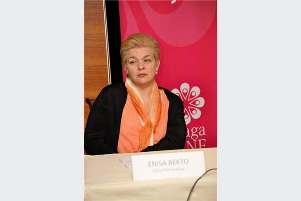 Enisa Bekto iz kompanije Bekto Precisa