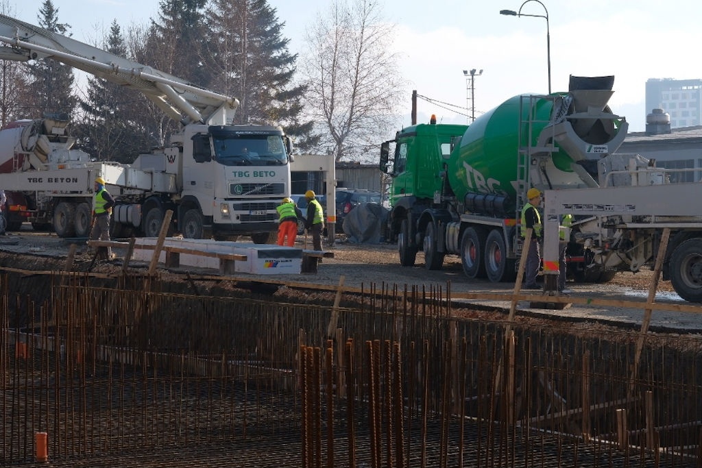 U Sarajevu počelo betoniranje sportske dvorane vrijedne pet miliona KM